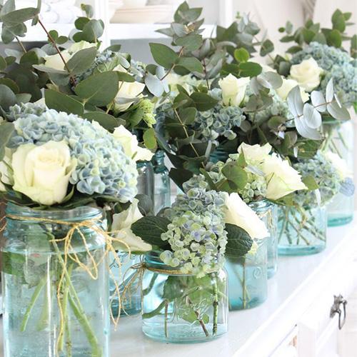 Be Inspired Making Arrangements Hydrangeas